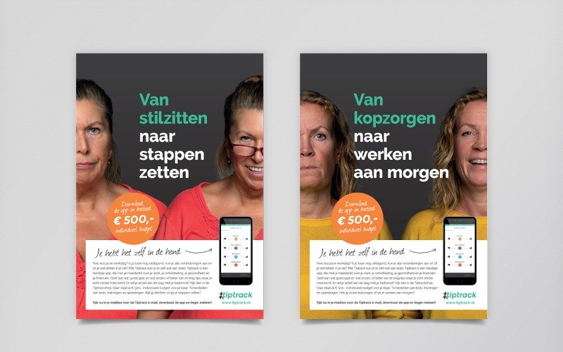 AWVN campagne Tiptrack - posters 2