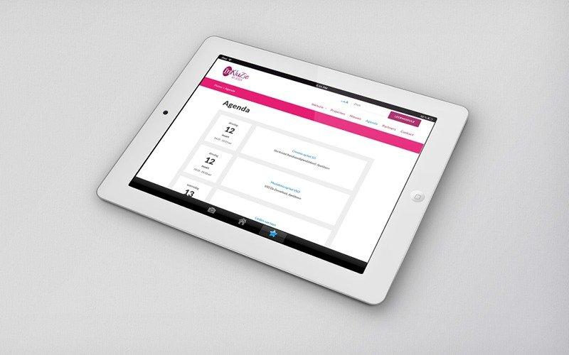 Website Inkluzie - agenda
