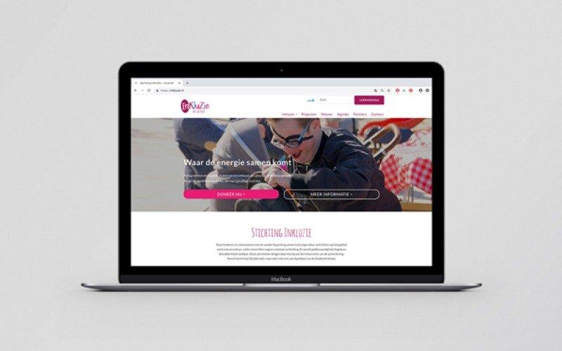 Inkluzie website - home