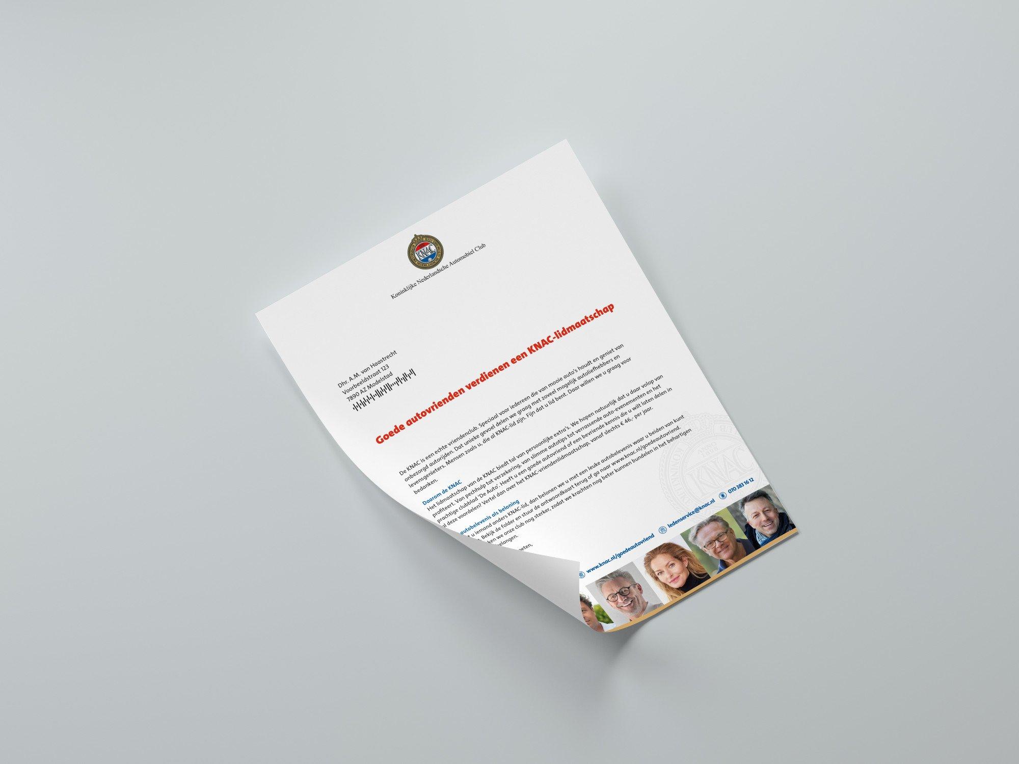 KNAC leden voor leden actie brief